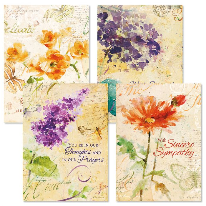 Peace Sympathy Cards and Seals