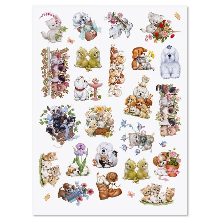 Cats and Dogs Stickers - BOGO