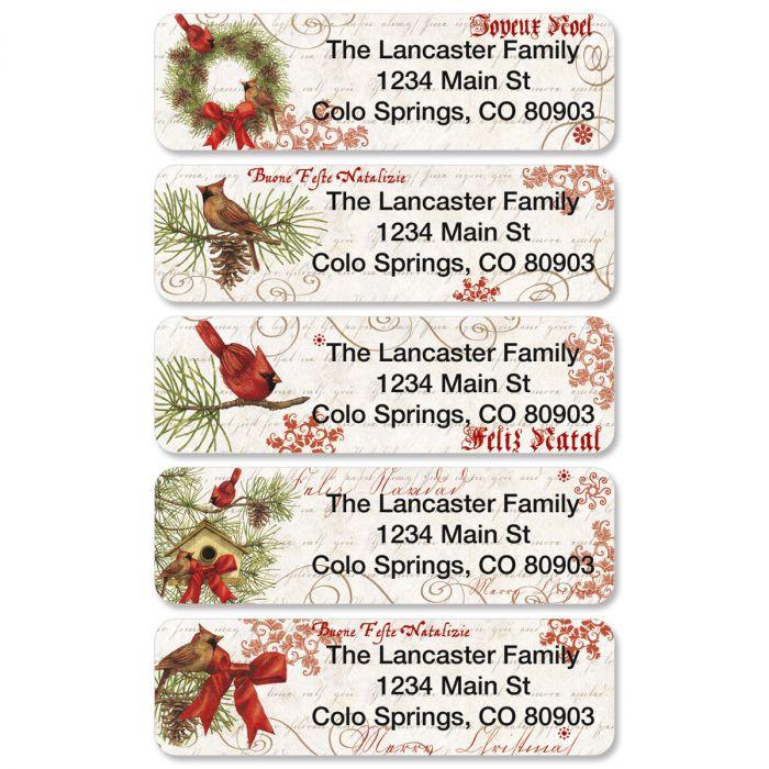Joyelle Rolled Address Labels  (5 Designs)