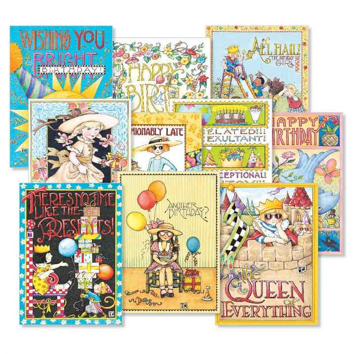 Mary Englebreit Birthday Cards Value Pack