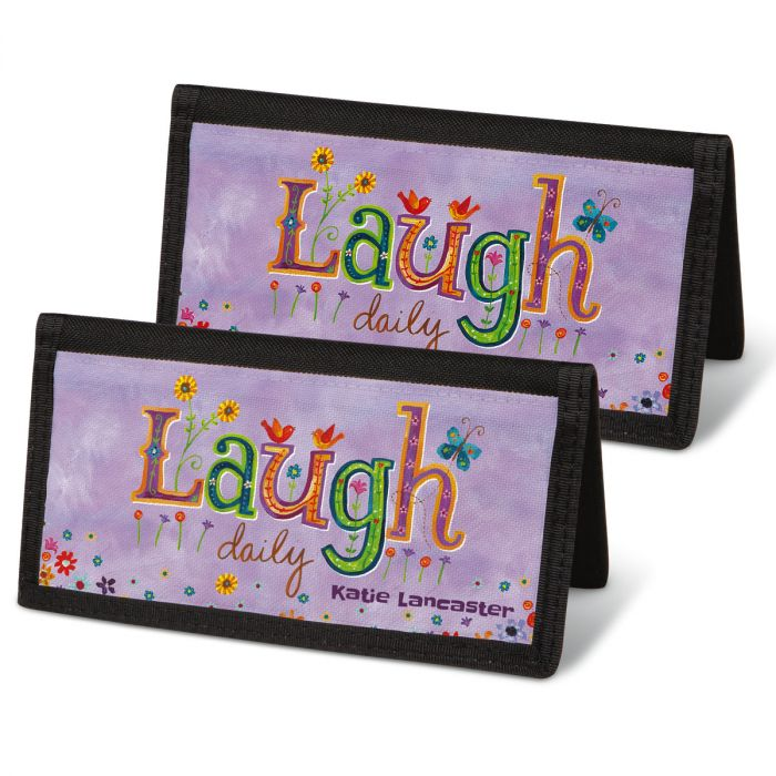 Happy Thoughts Checkbook Covers