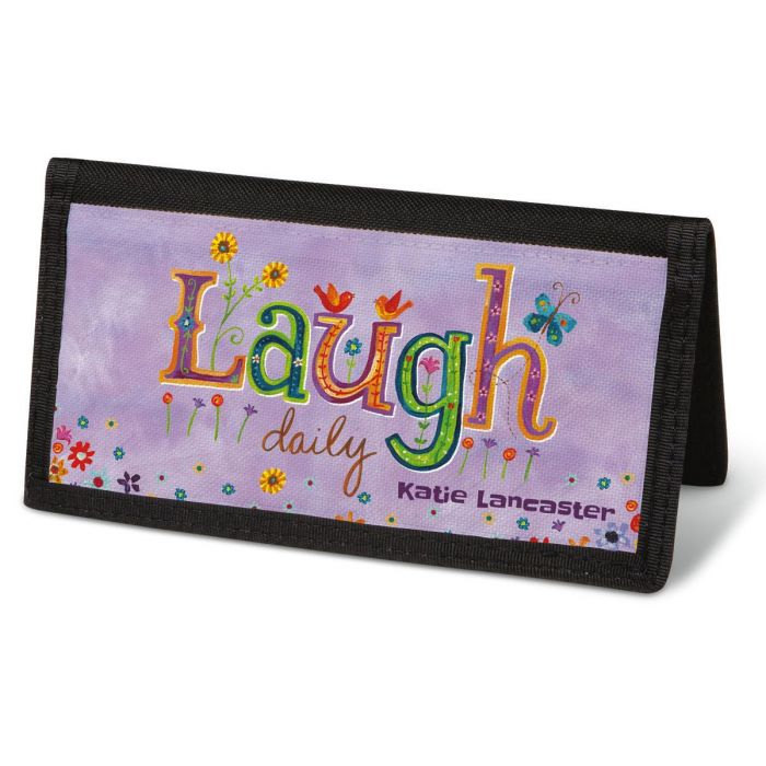 Happy Thoughts Checkbook Cover - Personalized