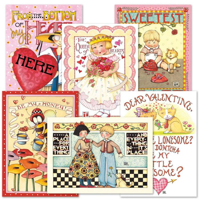 Mary Engelbreit® Valentines Day Cards Value Pack