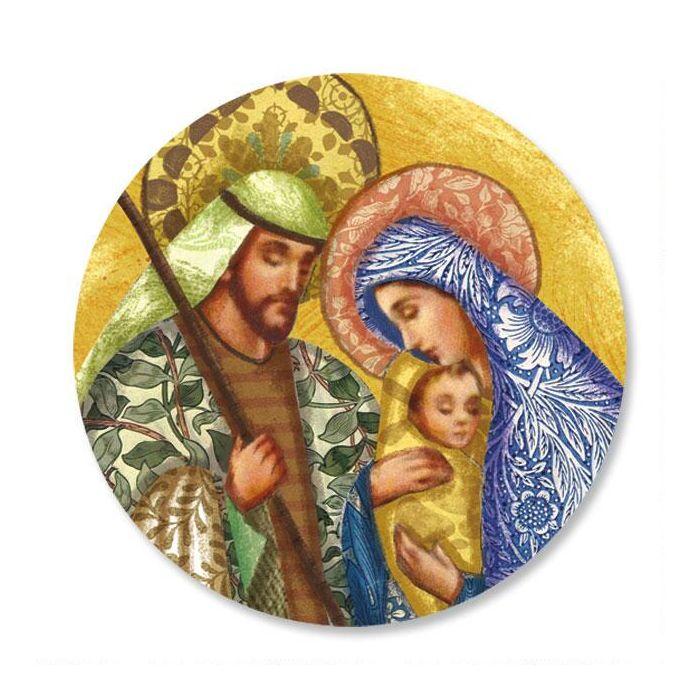 Holy Family Envelope Sticker Seals