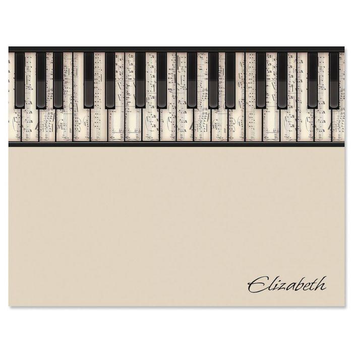 Keyboard Correspondence Cards