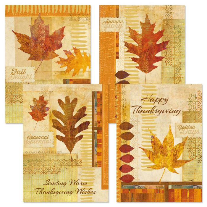 Autumn Glory Thanksgiving Cards