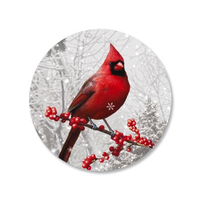 Winterberry Cardinal Seals