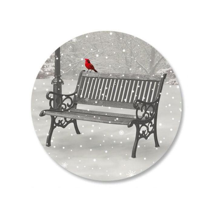 Snowfall Envelope Sticker Seals