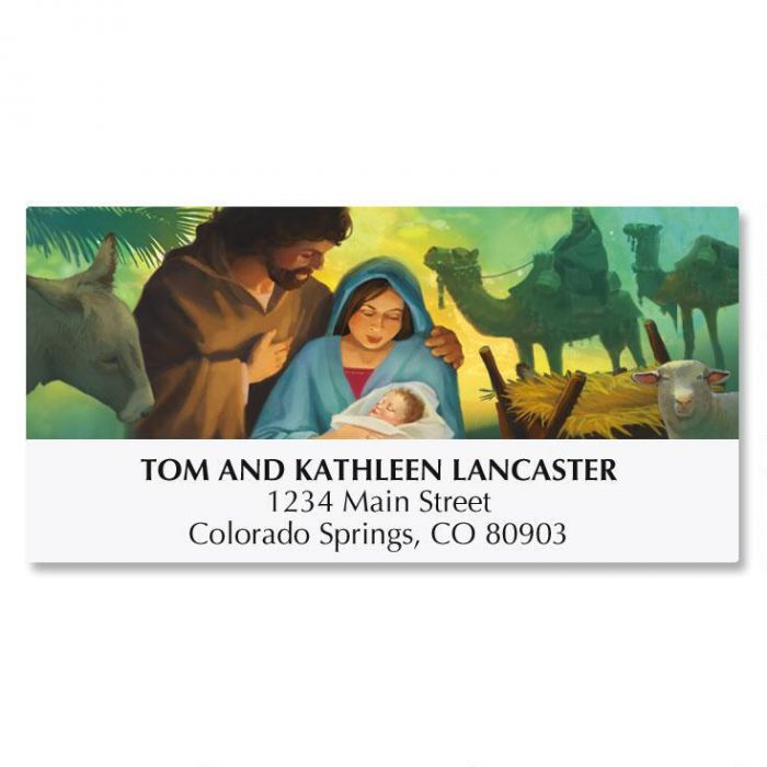 Born This Day Address Labels