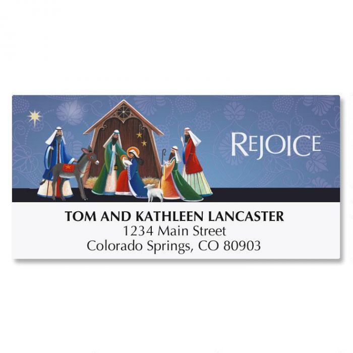 Rejoice Address Labels
