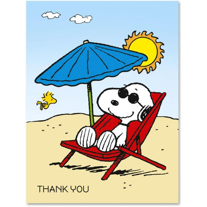 Snoopy's™ Summertime Fun Note Cards