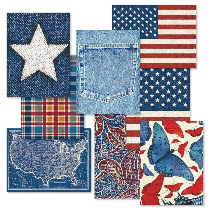 Americana Note Cards