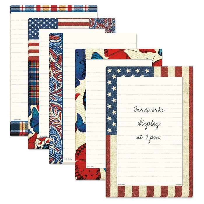 America Lined Notepads