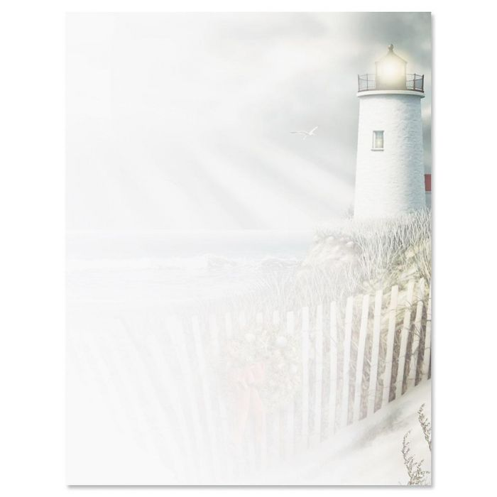 Christmas Shore Christmas Letter Papers