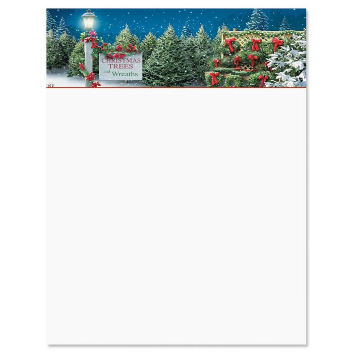 Tis The Season Christmas Letter Papers