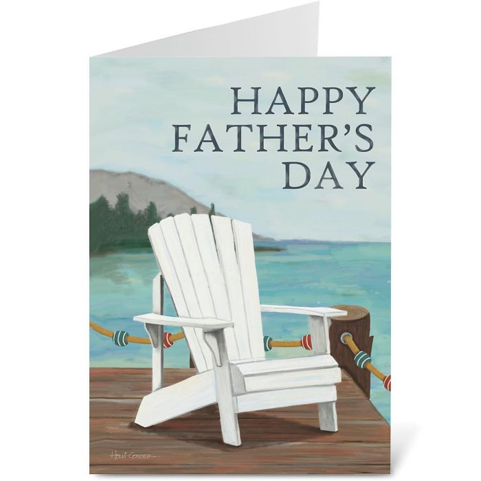 Relax Father's Day Card
