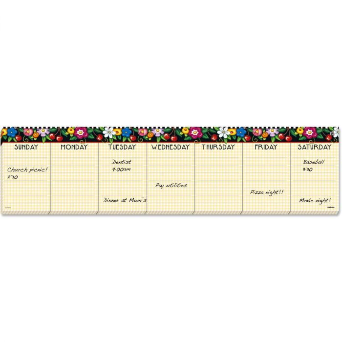 Mary Engelbreit® Week At A Glance Calendar Pad