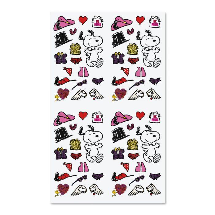 Snoopy™ Dress Up Valentine Stickers