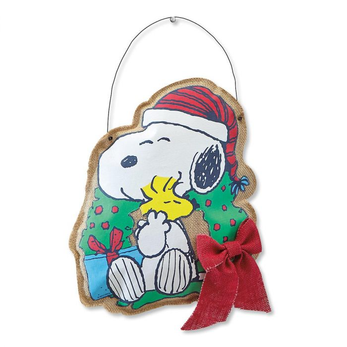Snoopy™ Canvas Door Hanger
