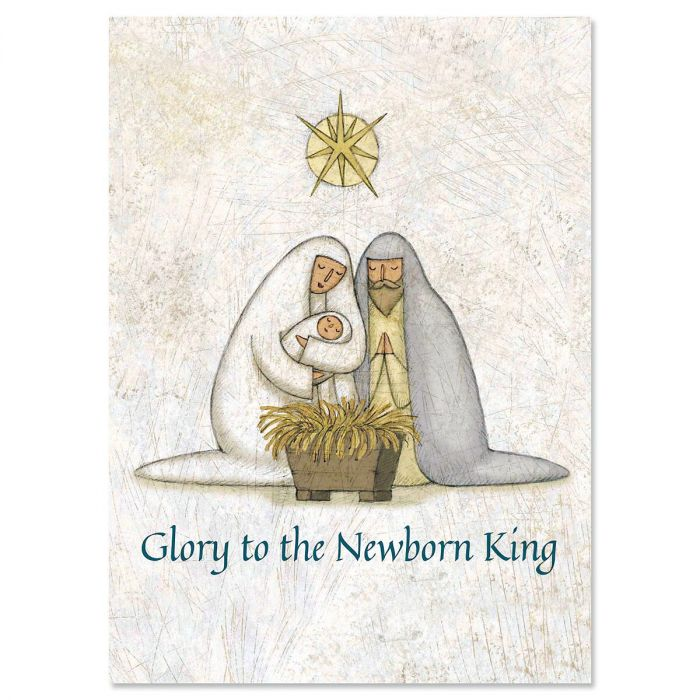 Rejoice Christmas Cards - Nonpersonalized
