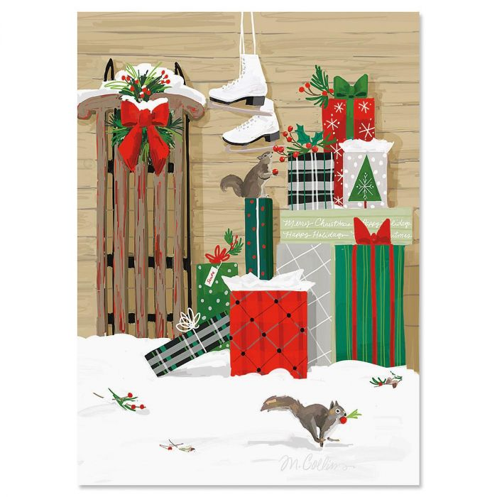 The Gift Christmas Cards - Nonpersonalized