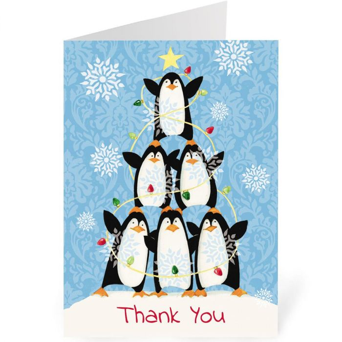 Penguin Thank You Note Cards