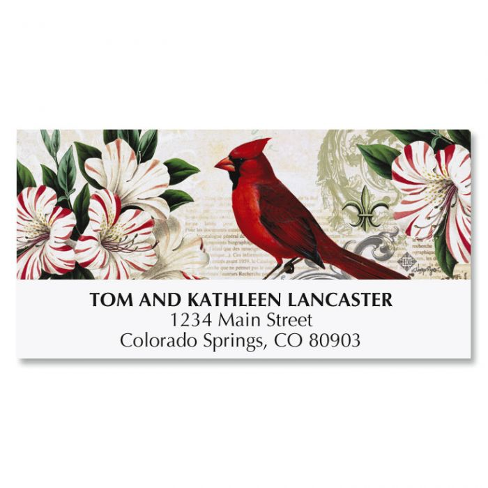 Christmas in Paris Deluxe Address Labels