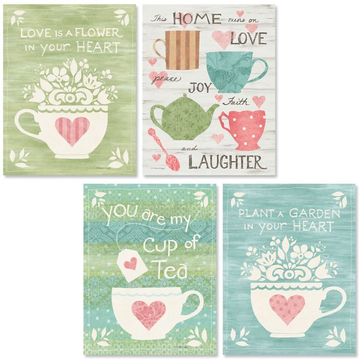 Tea Time Note Cards