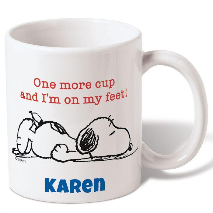 Personalized Snoopy™ Coffee Mug
