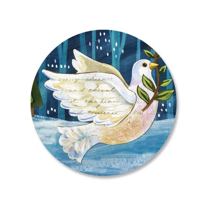 Peace Dove Seals
