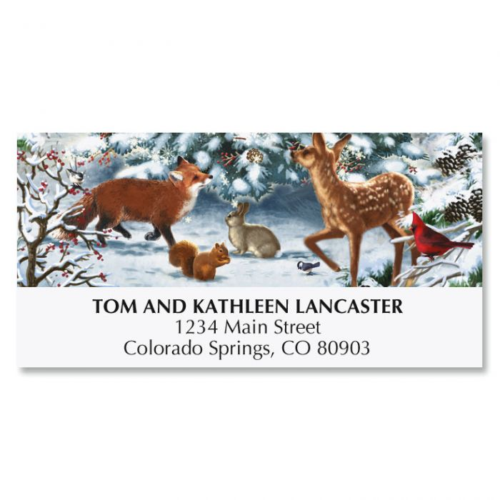 Nature's Celebration Deluxe Address Labels