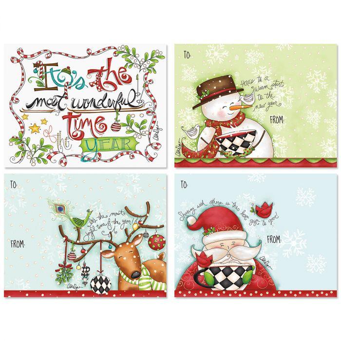 Reindeer & Friends Gift Card Envelopes