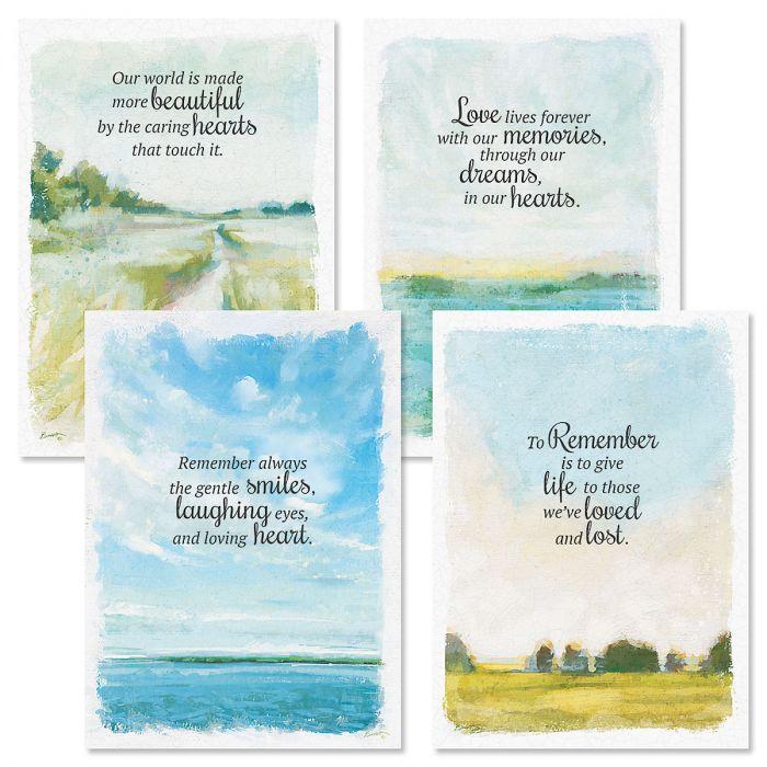 Coastal Sympathy Cards