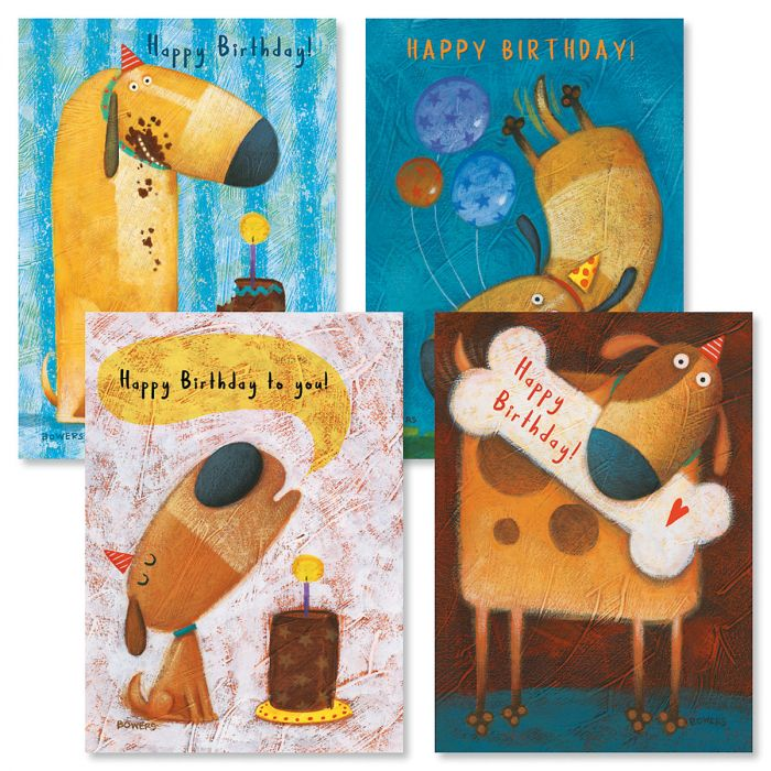 From the Dog Birthday Cards and Seals