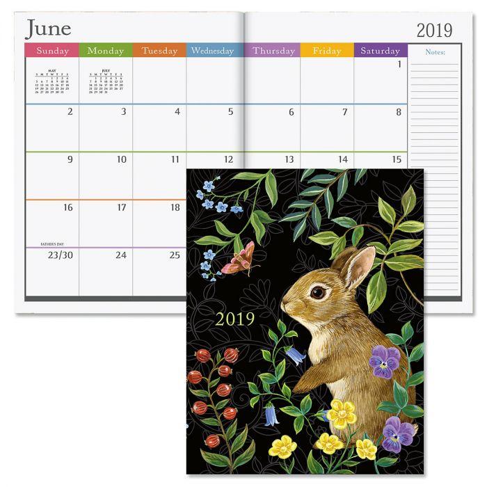 2019 Forest Friends Desk Calendar