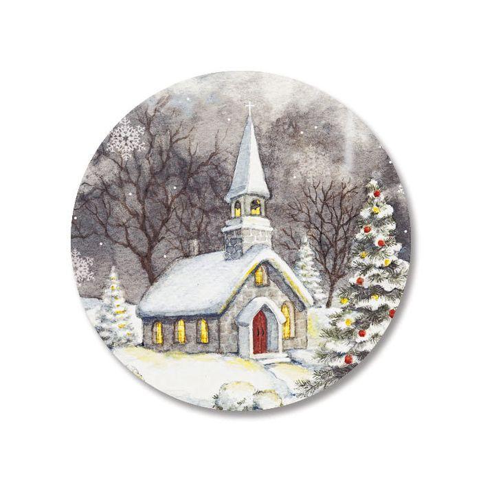 Snowy Church Seals