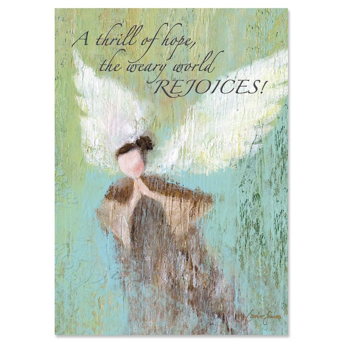 Angel Christmas Cards - Nonpersonalized