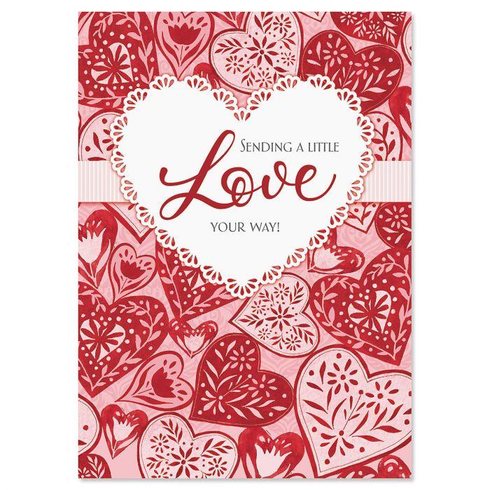 Heartfelt Valentines Day Cards
