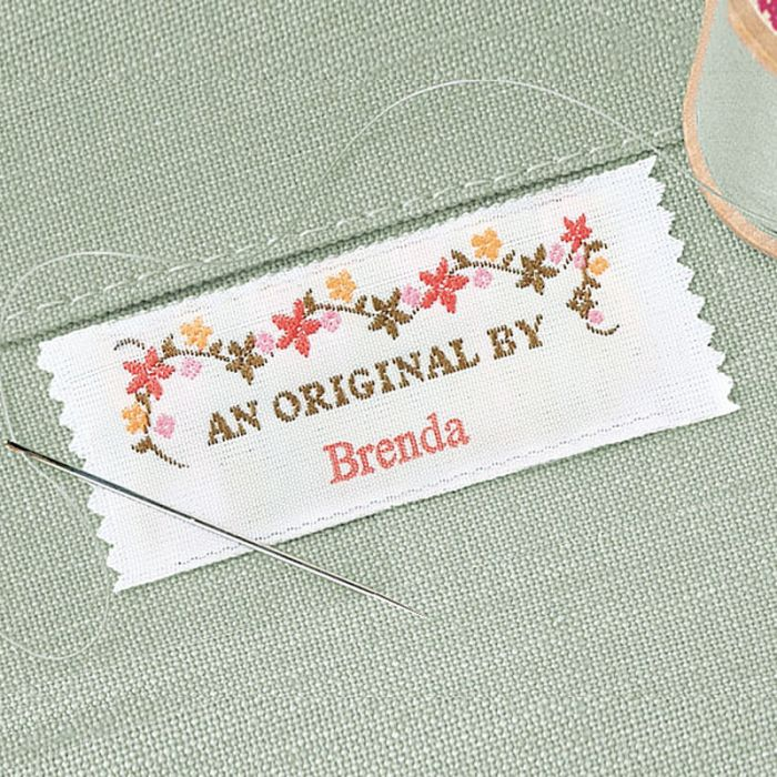 An Original By Sewing Label