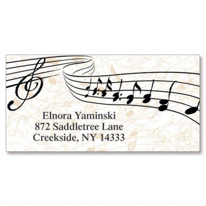 Symphony Border Address Labels