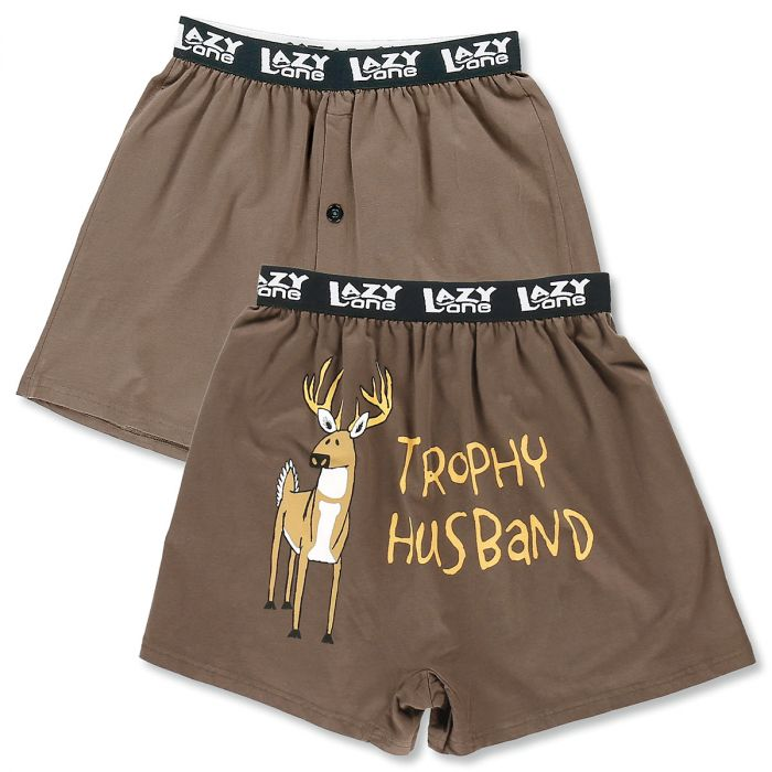 Men's Boxers - Trophy Husband - Medium