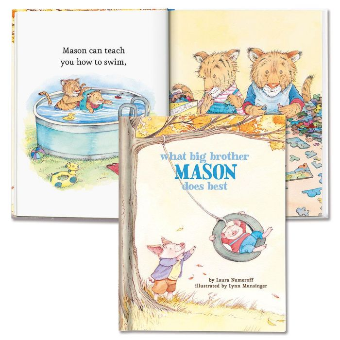 What Big Brother Does Best Personalized Storybook