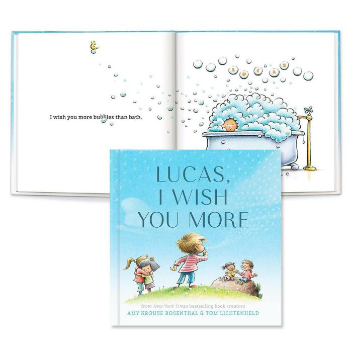 I Wish You More Personalized Storybook