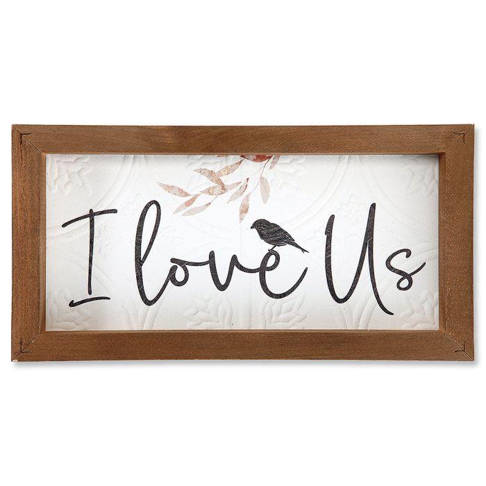 I Love Us Framed Art