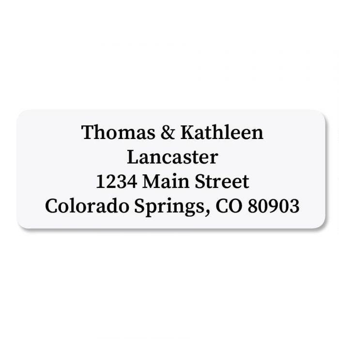 White Premier Address Labels