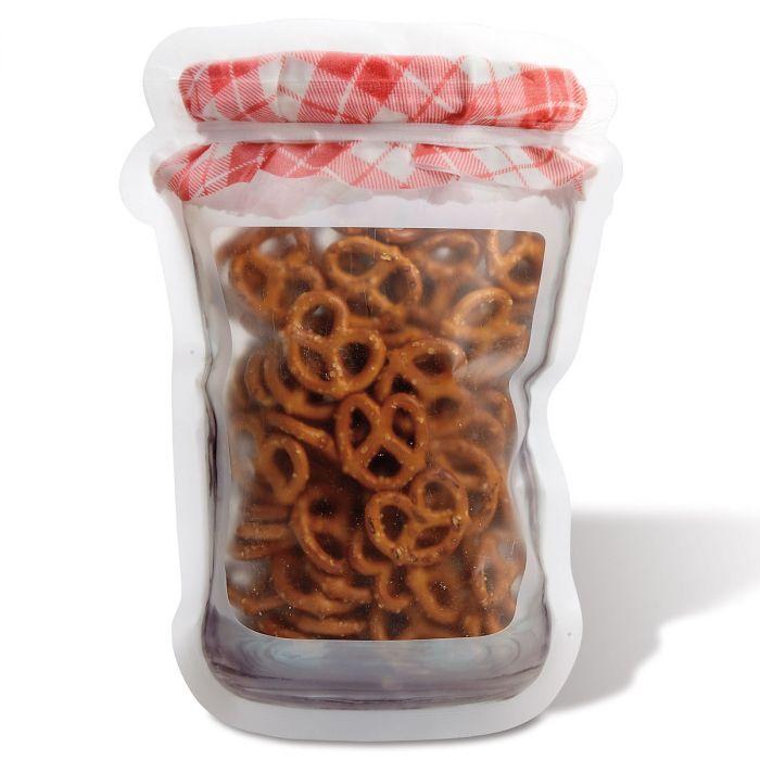 Jam Jar Zipper Bags