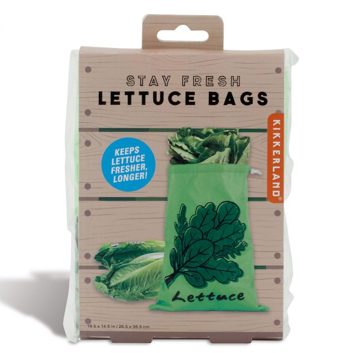 Stay-Fresh Lettuce Bag