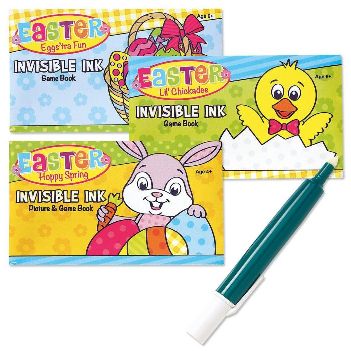 Invisible Ink Game Book