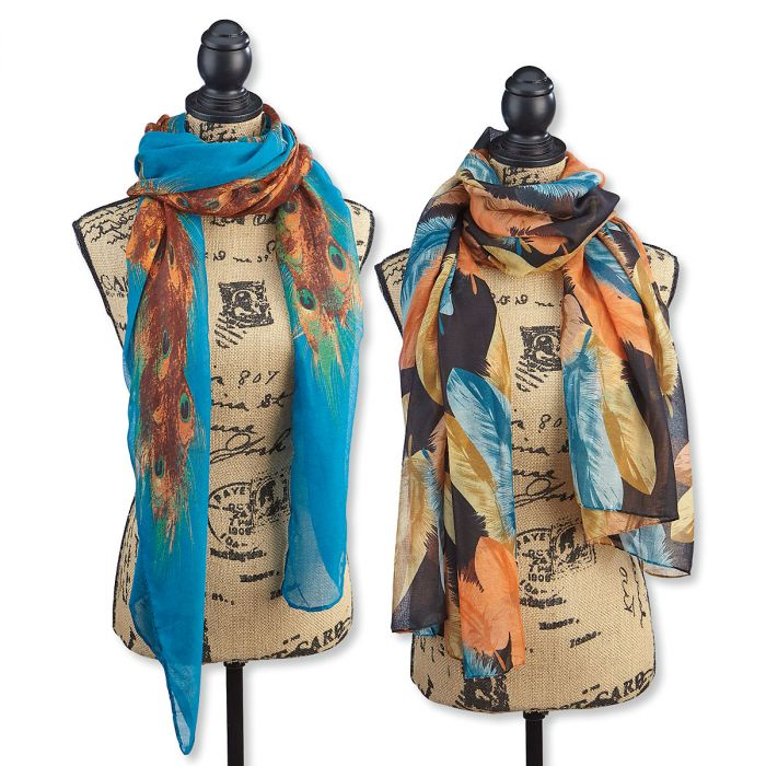Colorful Scarves by Current Catalog