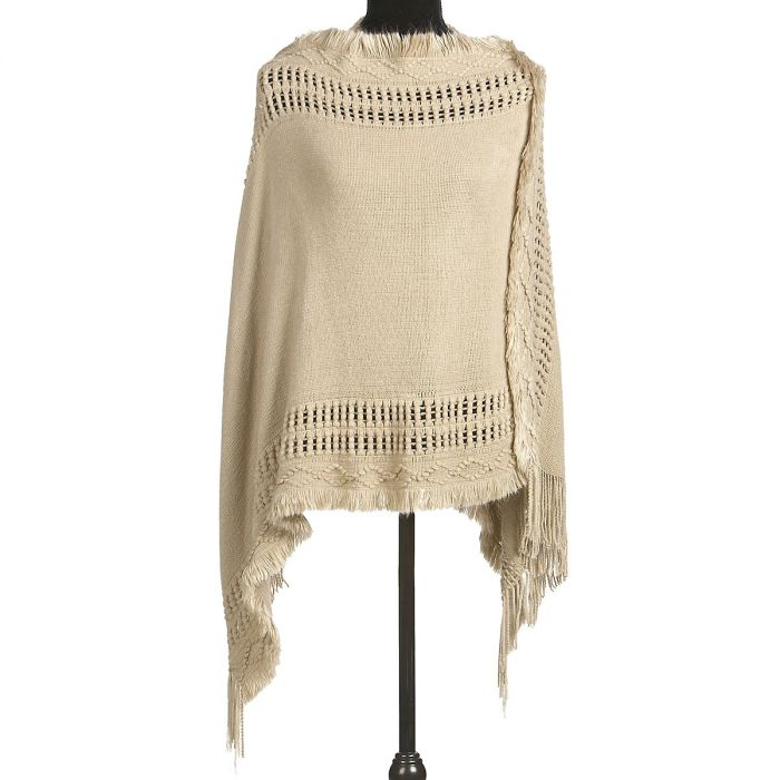 Fringe Shawl by Current Catalog